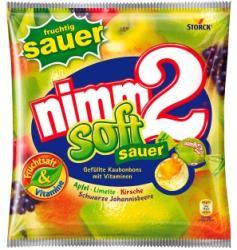 STORK Nimm2 Soft Sour olvadó cukorka 90g