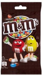 M&M's tejcsokoládés drazsé 90g