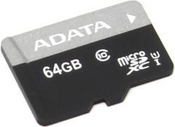 ADATA Premier microSDXC 64GB Class 10 AUSDX64GUICL10-R