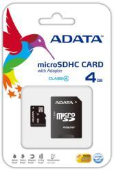 ADATA microSDHC 4GB Class 4 AUSDH4GCL4-RA2