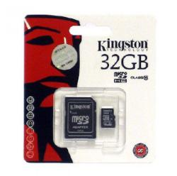 Kingston microSDHC 32GB Class 10 SDC10/32GB