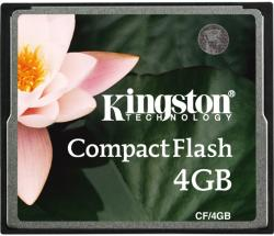 Kingston Compact Flash 4GB CF/4GB