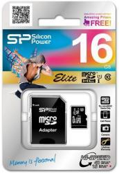 Silicon Power microSDHC Elite 1 16GB Class 10 SP016GBSTHBU1V20SP
