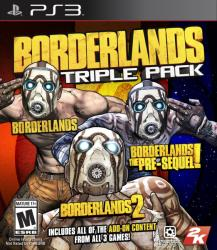 2K Games Borderlands Triple Pack (PS3)