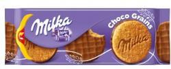 Milka Choco Grains Alpesi Tejcsokoládéval Félig Mártott Keksz (126g)