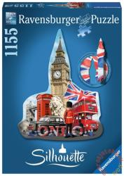 Ravensburger Sziluett puzzle - Big Ben, London 1155 db-os (16155)