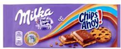 Milka Chips Ahoy! tejcsokoládé krémtöltelékkel és csokoládés kekszdarabkákkal (100g)