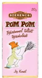 SZERENCSI Pom Pom tejcsokoládé tejkrémmel (20g)