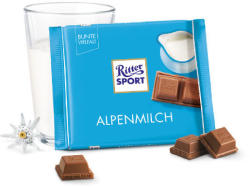 Ritter SPORT Alpine Milk Chocolate (100g)
