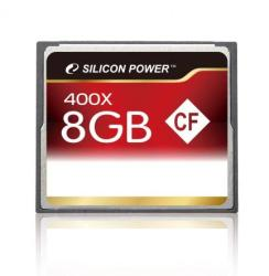 Silicon Power Compact Flash 8GB SP008GBCFC400V10