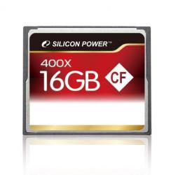 Silicon Power Compact Flash 16GB 400x SP016GBCFC400V10