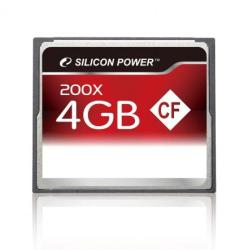 Silicon Power Compact Flash 4GB 200x SP004GBCFC200V10