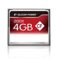 Silicon Power Compact Flash 4GB 200x SP004GBCFC200V10