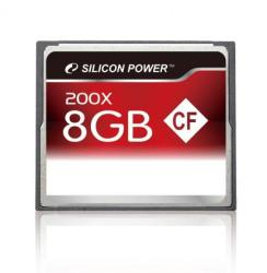 Silicon Power Compact Flash 8GB 200x SP008GBCFC200V10