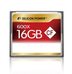Silicon Power Compact Flash 16GB 600x SP016GBCFC600V10
