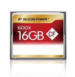 Silicon Power CompactFlash 16GB 600x SP016GBCFC600V10
