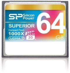 Silicon Power Compact Flash 64GB 1000x SP064GBCFC1K0V10