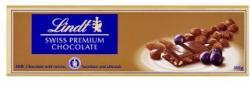 Lindt Tejcsokoládé mazsolával, mogyoróval és mandulával (300g)