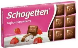 Schogetten Tejcsokoládé epres-joghurtos krémmel (100g)