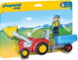 Playmobil 1.2.3. Traktor utánfutóval (6964)