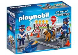 Playmobil City Action - Rendőrségi blokád (6878)