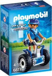 Playmobil City Action - Rendőrnő Balance-Racer-en (6877)