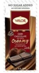 Valor Diabetikus étcsokoládé trüffel töltelékkel (100g)