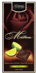 Gorenjka Mistica étcsokoládé lime készítménnyel (100g)