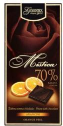 Gorenjka Mistica étcsokoládé narancshéjjal (100g)