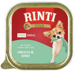 RINTI Gold Mini - Deer & Beef 24x100g