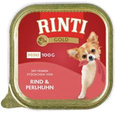 RINTI Gold Mini - Beef & Guinea-fowl 100g