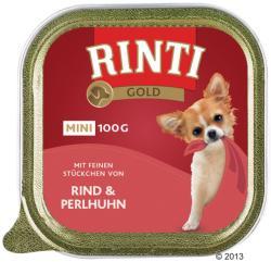 RINTI Gold Mini - Beef & Guinea-fowl 6x100g