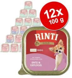 RINTI Gold Mini - Beef & Guinea-fowl 12x100g