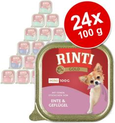 RINTI Gold Mini - Beef & Guinea-fowl 24x100g