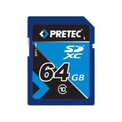 Pretec SDXC 64GB class 10 PCSDXC64GB