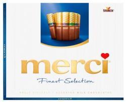 merci Finest Selection 4 féle tejcsokoládéval 250g