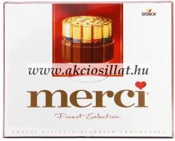 merci Finest Selection 8 féle csokoládéval 250g