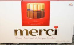 merci Finest Selection 8 féle csokoládéval 400g