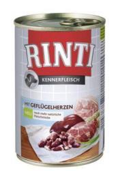 RINTI Kennerfleisch - Poultry Hearts 400g