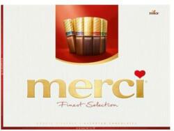 merci Finest Selection 8 féle csokoládéval 675g
