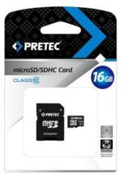 Pretec microSDHC 16GB Class 10 PC10MC16G