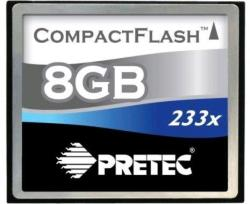 Pretec Compact Flash Cheetah II 8GB 233x PCCS8GB