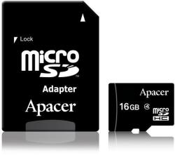 Apacer microSDHC 16GB Class 4 AP16GMCSH4-R