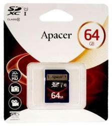 Apacer SDXC 64GB Class 10 APA-SDHCLASS10-64GB