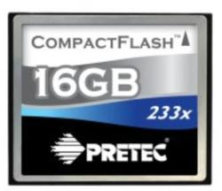 Pretec Compact Flash Cheetah II 16GB 233x PCCF16GB