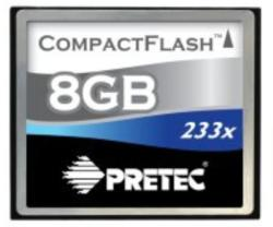 Pretec Compact Flash 8GB 233x PCCF8GB