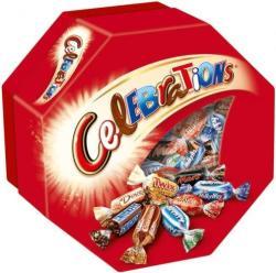 Celebrations vegyes tejcsokoládé 190g
