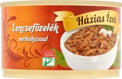Házias Ízek Lencsefőzelék sertéshússal (400g)