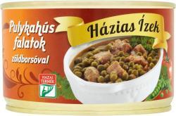 Házias Ízek Pulykahús falatok zöldborsóval (400g)