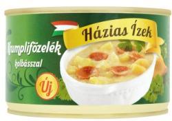 Házias Ízek Krumplifőzelék kolbásszal (400g)
